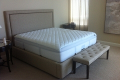 Custom Bed and Bench