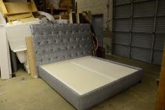 Custom Bed and Headboard